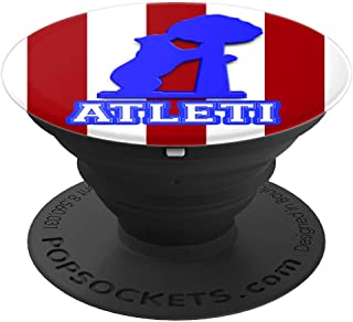 Atletico Soccer Fan futbol de Madrid - PopSockets Grip and Stand for Phones and Tablets