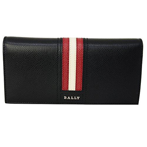 [バリー] BALLY バリー 財布 6218067 TALIRO LT 10 二つ折り 長財布 折りたたみ 長財布 ウォレット BLACK ...
