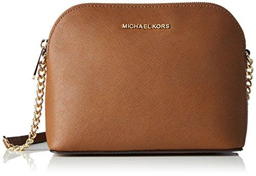 MICHAEL Michael Kors Women's Cindy Dome Cross Body Bag, Luggage, One Size