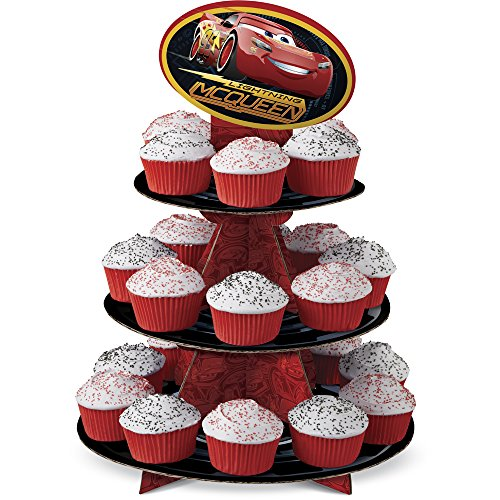 Wilton 1512-7110 Disney Pixar Cars 3 Cupcake Stand, Assorted