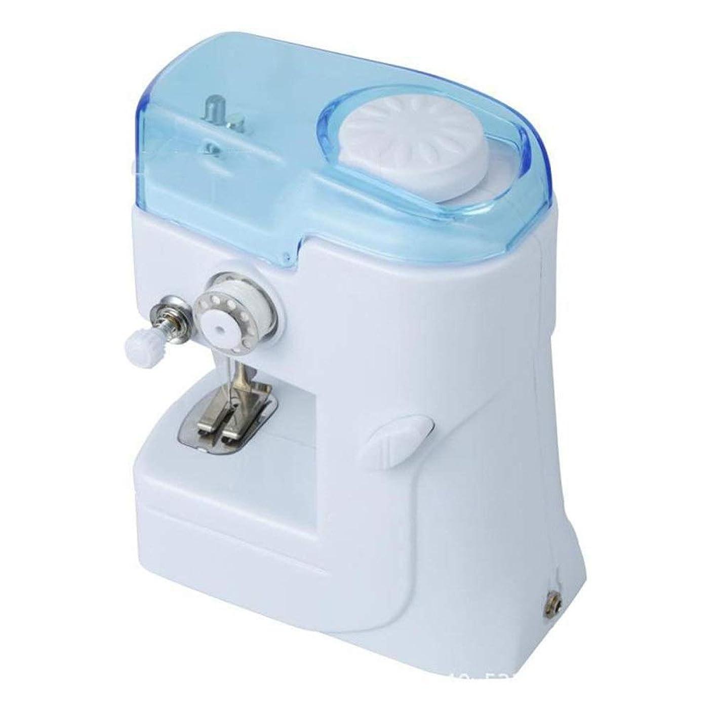 百印をつける理解するミシン 電動ミシン 軽量シングルスレッド電気ミシン多機能リニア子供のおもちゃのミシン 子供と初心者 (Color : White, Size : 13X8X16cm)
