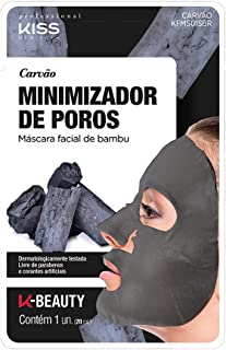 Kiss NY Professional Máscara Facial de Bambu - Carvão, Kiss New York Professional