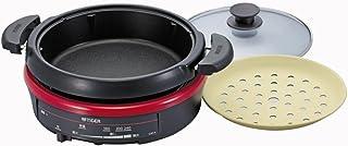 タイガー グリル鍋 ファインレッド CQF-A100-RM