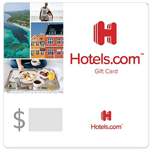 Hotels.com Red Gift Cards - E-ma...