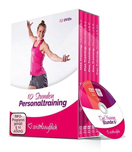 SEISTOLZAUFDICH: 10 Stunden Fitnesstraining. Workout speziell für Anfänger. Mehr Kraft, Ausdauer und Beweglichkeit durch Personaltraining. Effektives Bodyweight-Training ohne Geräte für Frauen