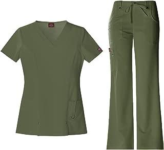 Best army green scrubs Reviews