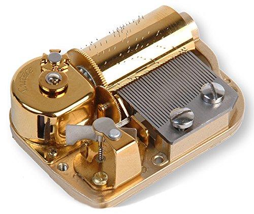 Mécanisme musical à ressort de 30 lames pour boîte à musique - Over the rainbow - Le magicien d'Oz (H. Arlen)
