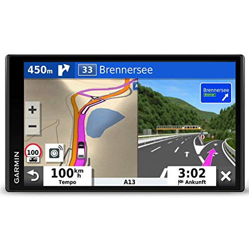 Garmin Camper 780 Advanced Camper-Navigationssystem mit 6,95-Zoll-Touch-Display, Verkehrs- und sprachaktivierter Navigation