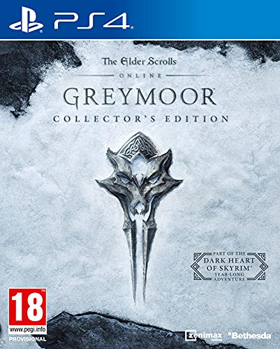 The Elder Scrolls Online: Greymoor Physical Collector's Edition Upgrade - Collector's Limited - PlayStation 4