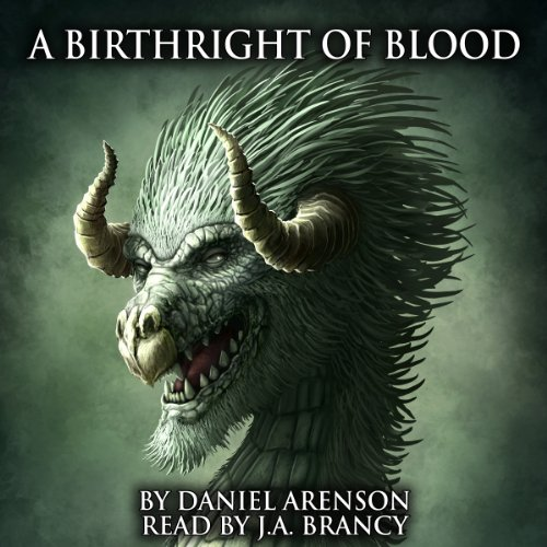 A Birthright of Blood (The Dragon War, Book 2) cover art