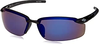 CROSSFIRE2968 Crossfire Blue Mirror Safety Glasses, Scratch-Resistant, Frameless