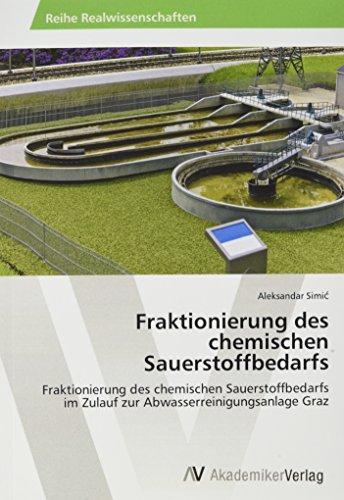 Fraktionierung des chemischen Sauerstoffbedarfs: Fraktionierung des chemischen Sauerstoffbedarfs im Zulauf zur Abwasserreinigungsanlage Graz