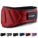 Fitgriff® Gewichthebergürtel V1 - Fitness-Gürtel für Bodybuilding, Krafttraining, Gewichtheben...