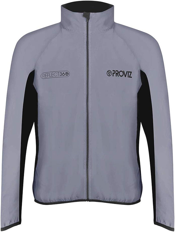 Proviz Men's Reflect360 Running Jacket, Silver
