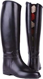 comprar comparacion HKM 4501 - Botas de equitación para niños, con Cremallera, Impermeables, 34