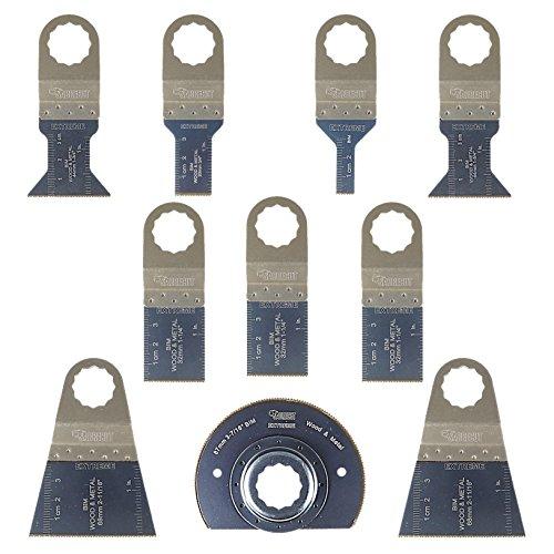 10x sabrecut sck10bm hojas para sierra cuchillas para Fein Supercut y Festool Vecturo multiherramienta oscilante multi herramienta accesorios