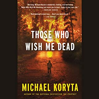 Those Who Wish Me Dead audiobook cover art