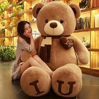 CGDZ Tallas Grandes Teddy Osito de Piel Dulce corazón