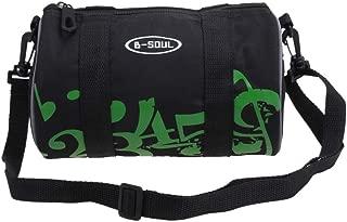 bulingbulingseason Folding Bike Road Cycling Bicycle Front Bag MTB Pannier Storage Pouch Handlebar Handbag Side Mesh Pocket