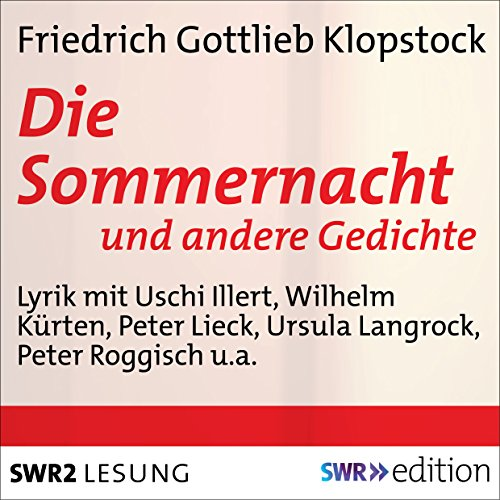 Die Sommernacht audiobook cover art