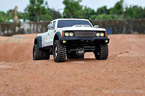 Cross RC - PG4L 1/10 Dually 4x4 Pickup Truck Crawler Kit, 2-Speed