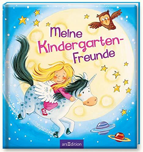 Meine Kindergarten-Freunde (Einhorn): Freundebuch ab 3 Jahren für Kindergarten und Kita, für Jungen und Mädchen