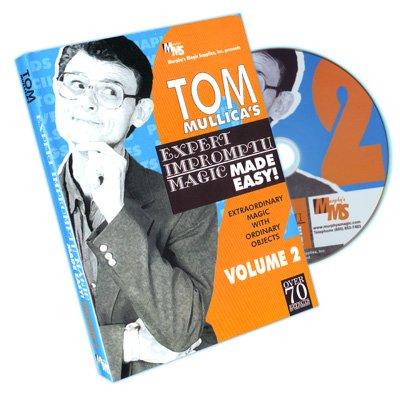Mullica Expert Impromptu Magic Made Easy Tom Mullica- #2, DVD