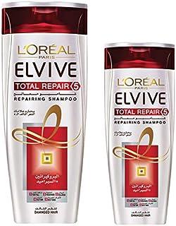 Loreal Elvive Total Repair 5 Shampoo - 400 ml+200 ml