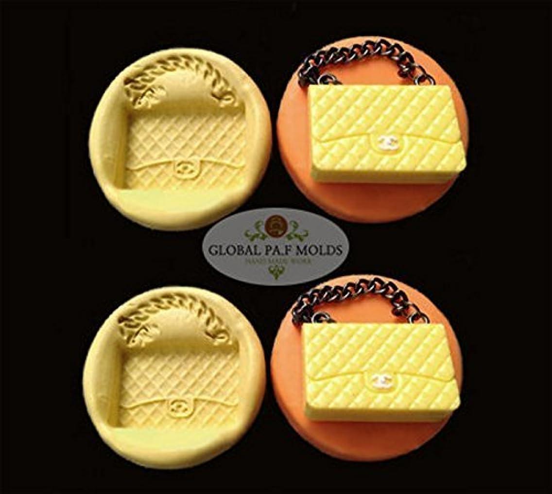 1 Piece Handbag mold Sugarcraft Molds Polymer Clay Cake Border Mold Soap Molds Resin Candy Chocolate Cake Decorating Tools