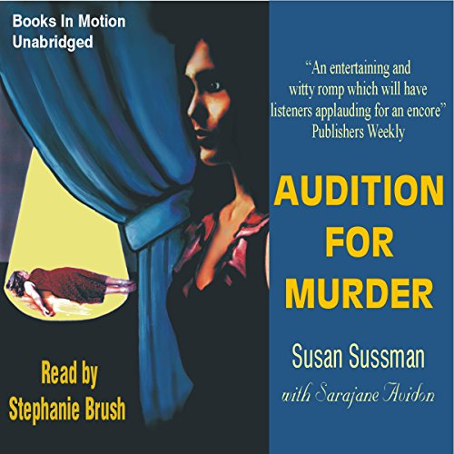 Audition for Murder audiobook cover art