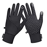 Winter Gloves,Newest Touch Screen Windproof Warm Gloves for Men Women Running Cycling Driving Hiking Outdoor Activities