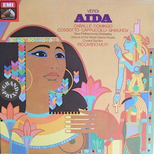 Verdi: Aida (Gesamtaufnahme, italienisch) [Vinyl Box-Set]