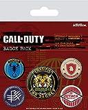 Call of Duty - Black Ops Cold War - Top Secret - 5 Ansteck Buttons für Fans - Größe je 25/38 mm Ø