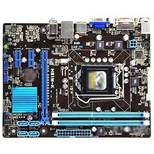 ALBBMY Ajuste para ASUS H61M-K original placa madre DDR3 16 GB H61M K para Intel H61 Desktop Mainboard PCI-E X16 SATA II LGA 1155 VGA utilizado Gaming placa base