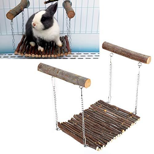 Hamster Spielzeug Hängebrücke Hamster Hängende Hängematte Kleine Schaukel Spielzeug Kaninchen hängend Hängematte Spielzeug für Kaninchen Hamster Maus Chinchilla