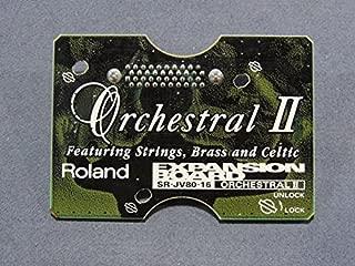 ROLAND Roland SR-JV80-16 SR JV 16 Orchestral II Orchestral 2 expansion board sound module