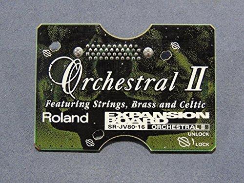 Find Cheap ROLAND Roland SR-JV80-16 SR JV 16 Orchestral II Orchestral 2 expansion board sound module
