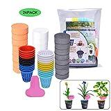 Extremade Lot de 24 Pots Aquaponie pour Plante, Pots Tasses Seau Panier + Clonage...
