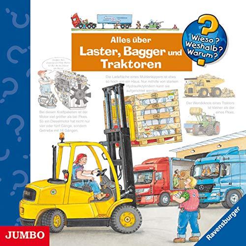 Alles über Laster, Bagger und Traktoren Titelbild
