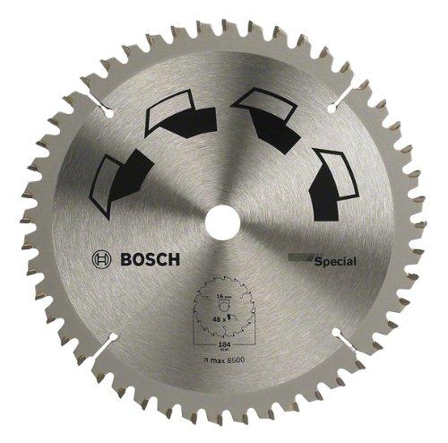 Bosch DIY Kreissägeblatt Special für verschiedene Materialien (Ø 184 mm, 48 Zähne)