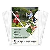 Vinyl Sticker Paper – BS Matte White Self...