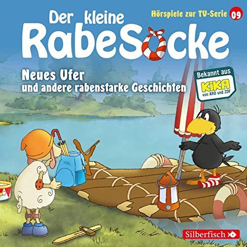 Neues Ufer, Die verfluchte Teekanne, Der große Sockini (Der kleine Rabe Socke - Hörspiele zur TV Serie 9): 1 CD
