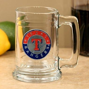 MLB Texas Rangers Tankard, One Size, Black