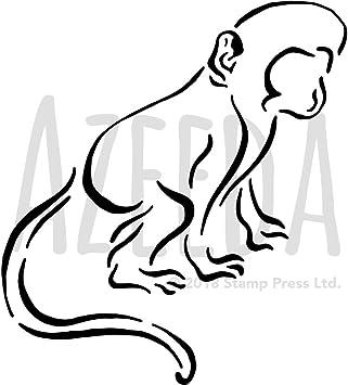 Affe Malvorlage Kostenlos Affen Ausmalbilder