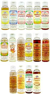 FLAVOR ESSENCE CUSTOM 5 PACK CASE -UNSWEETENED NATURAL FLAVORS ~Any Combination of Flavors You Want (Simply type in your list at checkout)