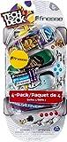FINGER SKATE - TECH DECK - PACK 4 FINGER SKATES - Authentique Finger Skates 96 mm A Personnaliser -...