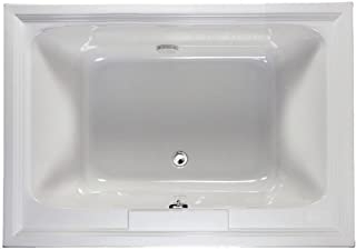 American Standard 2748.002.011 Town Square Bathing Pool, 5-Feet by 42-Inch, Arctic White