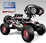 Gizmovine RTR Hobby RC Car 1:12 Scale 4WD Remote Control Truck 60+KM/H High Speed, Brushless 2.4 GHz Radio Controlled Cars with 1 Rechargeable Batteries, 4x4 Off-Road RC Monster Trucks