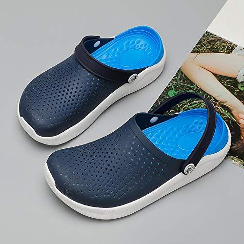 Chanclas Unisex Zapatos De Agujero Sandalias De Verano para Mujer para Deportes De Playa Mujeres Zapatillas Sin Cordones para Hombre Zapatillas Zapatillas Hombre Croc Zuecos C
