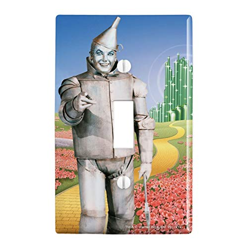 GRAPHICS & MORE Wizard of Oz Tin Man Character Plastic Wall Decor Toggle Light Switch Plate Cover